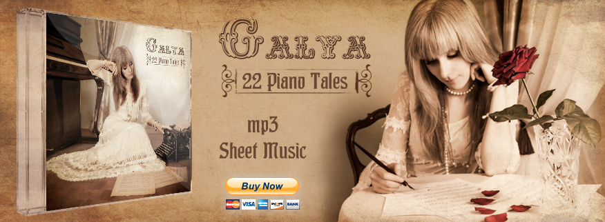 GALYA - Pianist, Composer and Performing Artist
